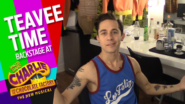 Teavee Time: Backstage at Charlie and the Chocolate Factory with Mike Wartella, Episode 8: Borle's Book Nook & More!