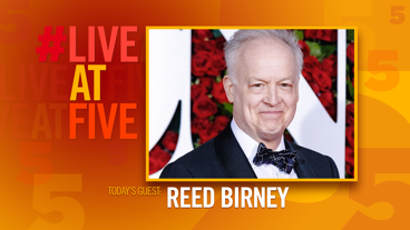 Broadway.com #LiveatFive with Reed Birney of 1984