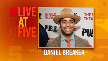 Broadway.com #LiveatFive with Daniel Breaker of Hamilton