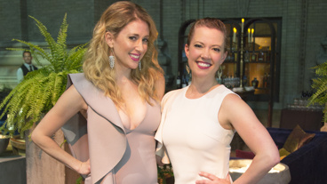 Caissie Levy and Patti Murin exude girl power on opening night. Catch them in the pre-Broadway run through October 1 and then at Broadway's St. James Theatre beginning on February 22, 2018.