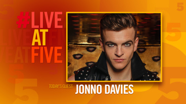 Broadway.com #LiveatFive with Jonno Davies of A Clockwork Orange