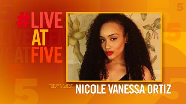 Broadway.com #LiveatFive with Nicole Vanessa Ortiz of Spamilton
