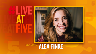 Broadway.com #LiveatFive with Alex Finke of Come From Away