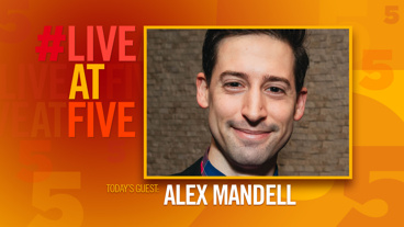 Broadway.com #LiveatFive with Alex Mandell of The Play That Goes Wrong