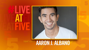 Broadway.com #LiveatFive with Aaron J. Albano of Cats