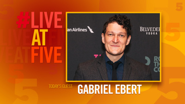Broadway.com #LiveatFive with Gabriel Ebert of Time and the Conways