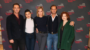 The Parisian Woman's Marton Csokas, Phillipa Soo, Uma Thurman, Josh Lucas and Blair Brown assemble.