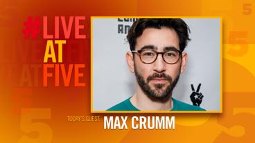 Broadway.com #LiveatFive with Max Crumm of Hot Mess