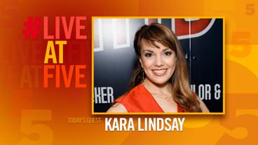 Broadway.com #LiveatFive with Kara Lindsay of Beautiful