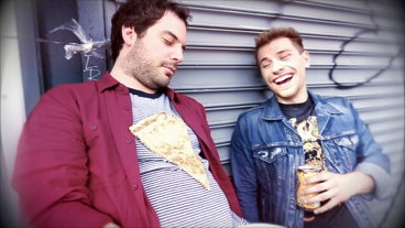 The Broadway.com Show: Have a Blast with School of Rock's Justin Collette & Conner John Gillooly at This Epic Photo Shoot