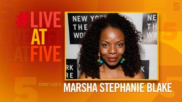 Broadway.com #LiveatFive with Marsha Stephanie Blake of Stuffed
