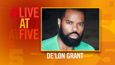 Broadway.com #LiveatFive with De'Lon Grant of Come From Away