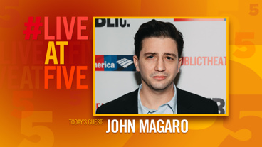 Broadway.com #LiveatFive with John Magaro of <i>Illyria</i>