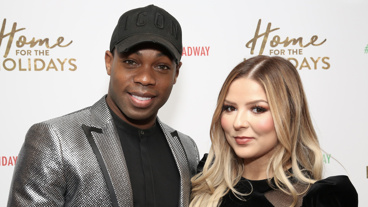 Chicago-bound star Todrick Hall and Home for the Holidays' Bianca Ryan.