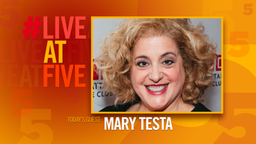 Broadway.com #LiveatFive with Mary Testa of <i>The Portuguese Kid</i>