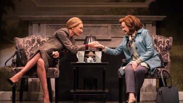 Uma Thurman as Chloe and Blair Brown as Jeanette The Parisian Woman.