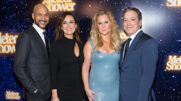 Meteor Shower's Keegan-Michael Key, Laura Benanti, Amy Schumer & Jeremy Shamos
