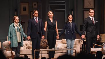 The Parisian Woman's Blair Brown, Josh Lucas, Uma Thurman, Phillipa Soo & Marton Csokas