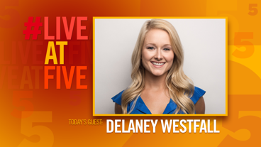 Broadway.com #LiveatFive with DeLaney Westfall of Kinky Boots