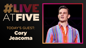 Broadway.com #LiveatFive with Cory Jeacoma of Jersey Boys