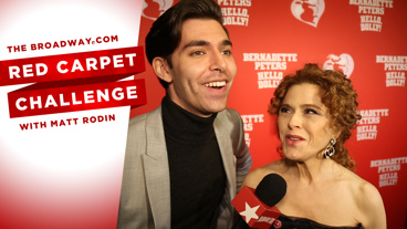 Say 'Hello' to Bernadette Peters and the Cast of Hello, Dolly! in this Linguistical Red Carpet Challenge