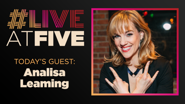Broadway.com #LiveatFive with Analisa Leaming of School of Rock