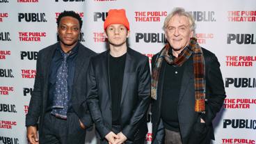 The Low Road stars Chukwudi Lwuji, Chris Perfetti and Daniel Davis.