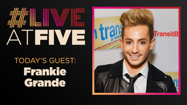 Broadway.com #LiveatFive with Frankie J. Grande of Cruel Intentions