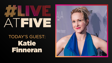 Broadway.com #LiveatFive with Katie Finneran of Edward Albee's At Home At the Zoo