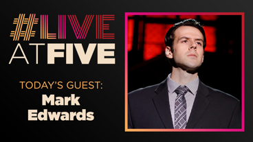 Broadway.com #LiveatFive with Mark Edwards of Jersey Boys