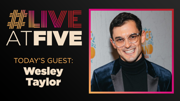 Broadway.com #LiveatFive with Wesley Taylor of SpongeBob SquarePants