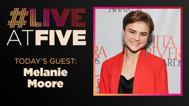 Broadway.com #LiveatFive with Melanie Moore of Hello, Dolly!