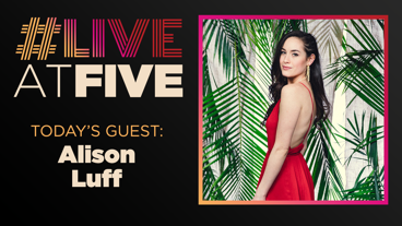 Broadway.com #LiveatFive with Alison Luff of Escape to Margaritaville