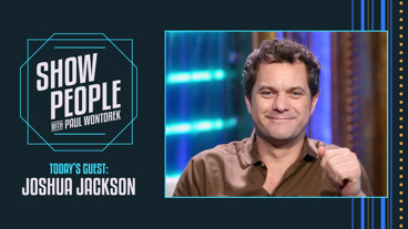 Show People with Paul Wontorek: Joshua Jackson of Children of a Lesser God