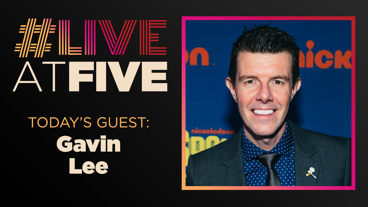 Broadway.com #LiveatFive with Gavin Lee of SpongeBob SquarePants
