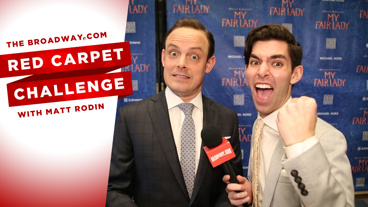 Get Tongue Twisted with the Cast of My Fair Lady in this Ridiculous Red Carpet Challenge from Opening Night