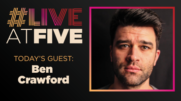 Broadway.com #LiveatFive with Ben Crawford of The Phantom of the Opera