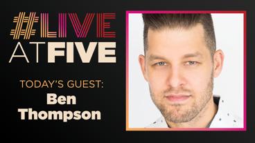Broadway.com #LiveatFive with Ben Thompson of Waitress