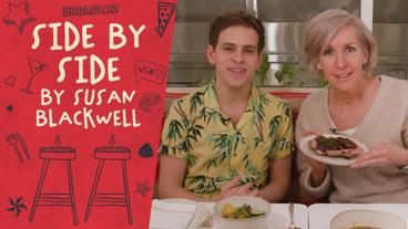 Dear Evan Hansen Star Taylor Trensch Sits Side by Side by Susan Blackwell!