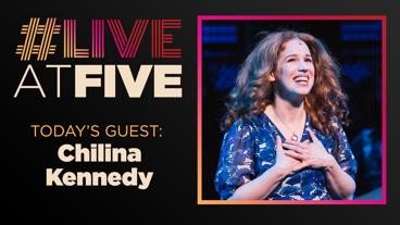 Broadway.com #LiveatFive with Chilina Kennedy of Beautiful