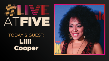 Broadway.com #LiveatFive with Lilli Cooper of SpongeBob SquarePants