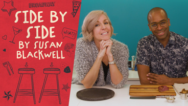History Has Its Eyes on Hamilton Star Daniel Breaker's Foodie Skills on Side by Side by Susan Blackwell