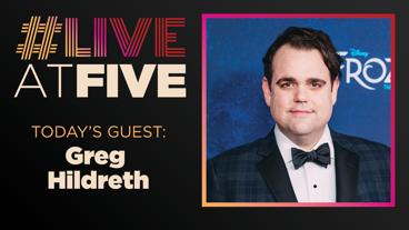 Broadway.com #LiveatFive with Greg Hildreth of Frozen