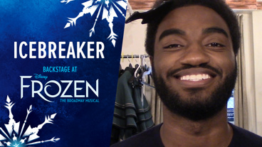 Backstage at Frozen with Jelani Alladin, Episode 4: Pre-Show Rituals