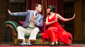 Ned Noyes & Jamie Ann Romero in The Play That Goes Wrong