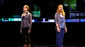Christiane Noll (Cynthia Murphy) & Jessica Phillips (Heidi Hansen) in the national tour of Dear Evan Hansen, photo by Matthew Murphy