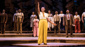 Adrianna Hicks (Celie) & the North American tour cast of The Color Purple, photo by Matthew Murphy