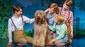 Colin Wheeler, Sammy, Turner Birthisel, Bergman Freedman & Wyatt Cirbus in Finding Neverland